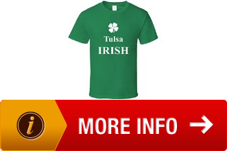 adults tulsa my irish town custom t shirt